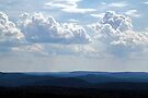 Clouds Over the Hills - Calabogie, Ontario by Debbie Pinard