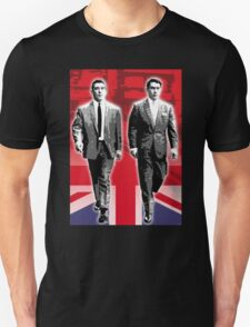 Funny The Kray Twins Walking T-Shirt