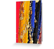 Tourist Colors Greeting Card