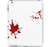 Blood Splatter iPad Case/Skin