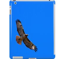 Red Tail, Blue Sky iPad Case/Skin