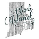 Rhode Island State Typography by surgedesigns