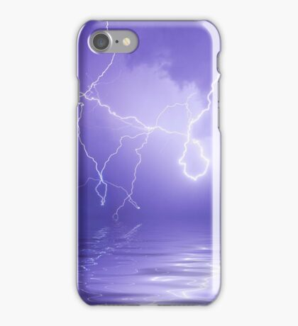 West Australian summer electrical storm iPhone Case/Skin