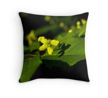 Plant with a Face Throw Pillow