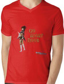 Runescape go away noob Mens V-Neck T-Shirt