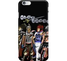 Runescape four characters iPhone Case/Skin