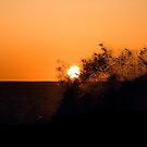 Sunrise and Surf by Philip Alexander