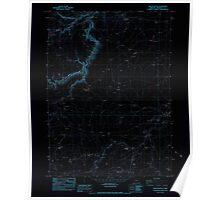 USGS Topo Map Oregon Oregon Butte 280996 1982 24000 Inverted Poster