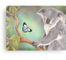 A Kiss for Koala Canvas Print