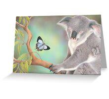 A Kiss for Koala Greeting Card