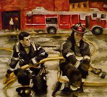 Firemen by Kelly S