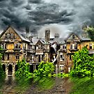 """Storm at """"Bennett Women's College"""", Millbrook New York by MJD Photography  Portraits and Abandoned Ruins"""