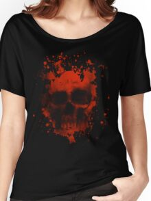 Blood And Skull Women's Relaxed Fit T-Shirt