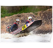 Power boat 113 Poster
