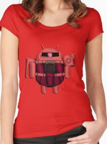 ZAKDROID-II Women's Fitted Scoop T-Shirt