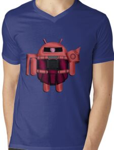 ZAKDROID-II Mens V-Neck T-Shirt