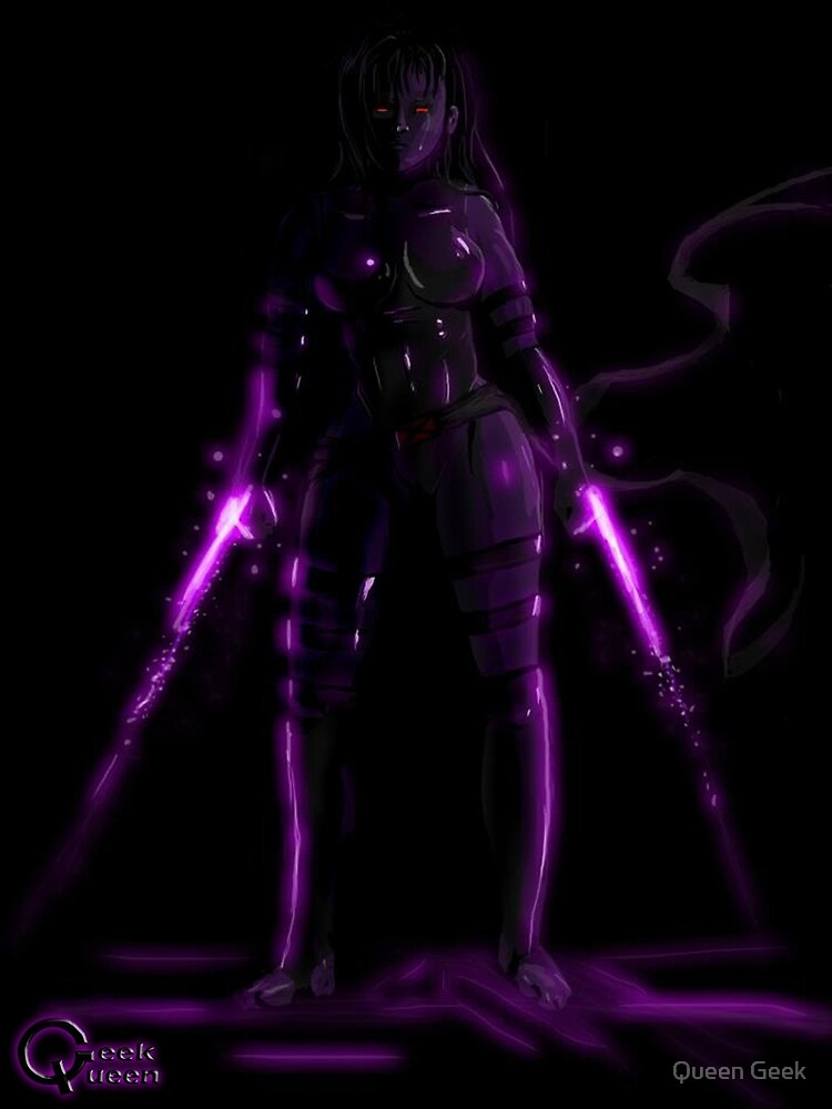 Psylocke by Queen Geek