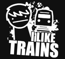 I Like Trains Kids Clothes