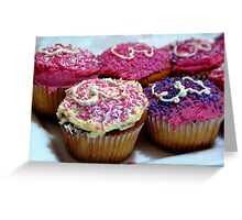 3rd Birthday Cupcakes Greeting Card