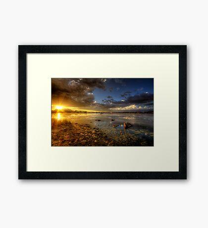 Light It Up Framed Print