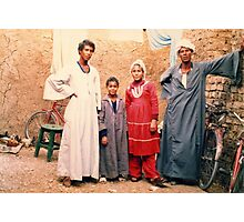 Mohammed's Family Photographic Print