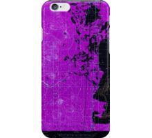 USGS Topo Map Oregon Lenz 282658 1957 62500 Inverted iPhone Case/Skin