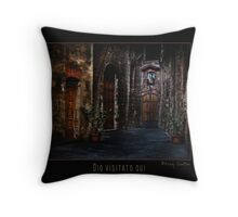 Beckoning Alley Throw Pillow