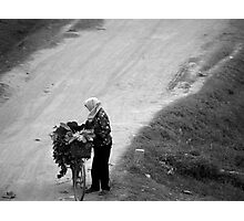 peoplescapes #88, dirt road Photographic Print