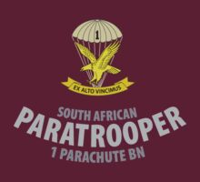 South African Paratrooper Shirt (1 Parachute Bn) SADF by civvies4vets