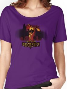 THIS IS MY BROOMSTICK Women's Relaxed Fit T-Shirt