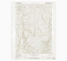 USGS Topo Map Oregon Kane Spring Gulch 280371 1967 24000 One Piece - Long Sleeve