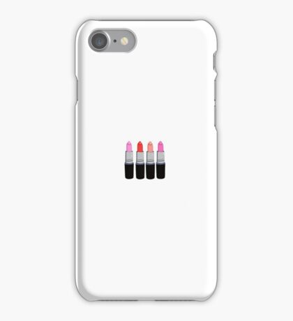 MAC Lipsticks iPhone Case/Skin