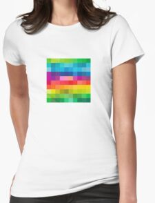 Colorful V2 Womens Fitted T-Shirt