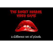 A Different Set of Pixels Photographic Print