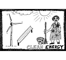 Clean Energy Photographic Print