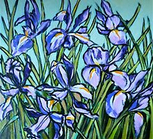 Irises© by Elizabeth Moore Golding