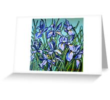 Irises© Greeting Card