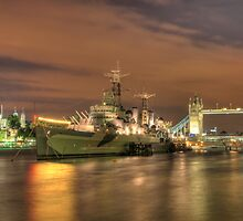 HMS Belfast by Chad Kruger