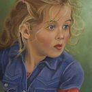 Blue Eyes by Martha Mitchell