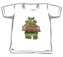 Funny Cartoon Monstar Monster 001 Kids Tee