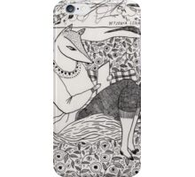 A Fox Reading  iPhone Case/Skin