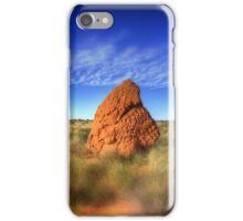 Outback landscape between Coral Bay & Exmouth , Western Australia iPhone Case/Skin
