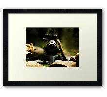 M1919 Browning Machine Gun Framed Print
