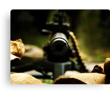 M1919 Browning Machine Gun Canvas Print
