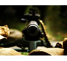 M1919 Browning Machine Gun Photographic Print