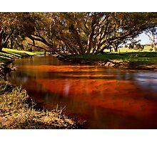"""""""Red Gully"""" Photographic Print"""