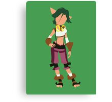 Jak and Daxter - Keira Canvas Print