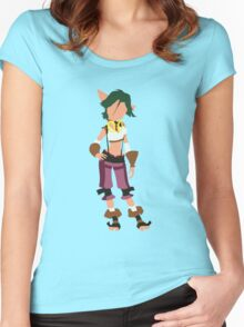 Jak and Daxter - Keira Women's Fitted Scoop T-Shirt