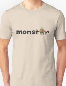 Monster Text Cartoon 001 T-Shirt
