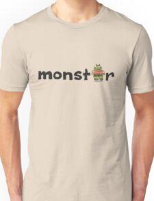 Monster Text Cartoon 001 Unisex T-Shirt